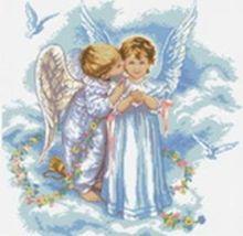 - Наборы для вышивания 14ст. Поцелуй ангела (4001-14) обложка книги