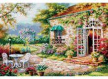 - Наборы для вышивания 14ст. Цветущий сад (4029-14) обложка книги