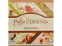 - Наборы для скрапбукинга. Набор бумаги Французское путешествие (012-SB) обложка книги
