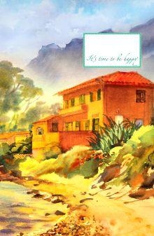 - Блокнот. Домик на побережье (А5) обложка книги
