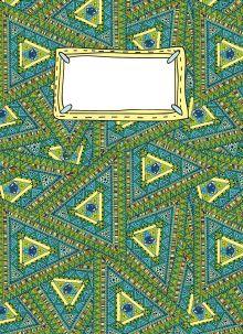 Обложка Блокнот для записей Павлин-мавлин А6