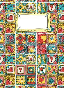 Блокнот для записей Печеньки Купидона А6