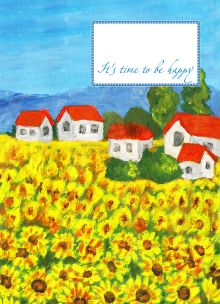 - Блокнот. Солнечная поляна (мини) обложка книги