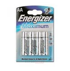 Батарейка Energizer MAX LR6/E91 AA 4  шт