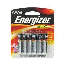 - Батарейка Energizer MAX AAA/LR03 6 шт обложка книги