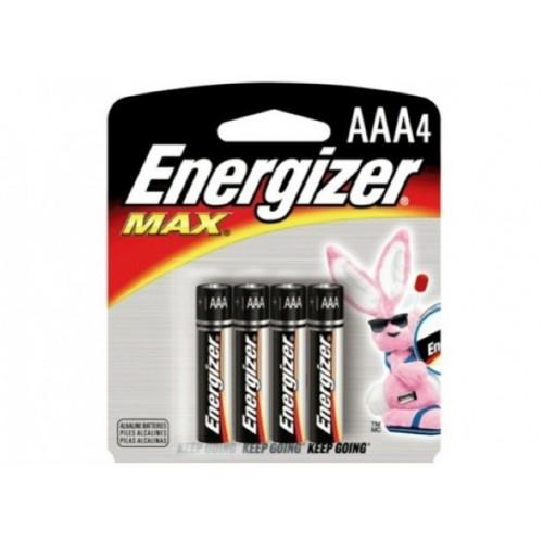 все цены на Батарейка Energizer MAX LR03/E92 AAA 4 шт онлайн