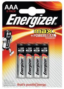 - Батарейка Energizer MAX AAA 8 шт обложка книги