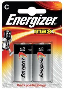 - Батарейка Energizer MAX LR14/E93 C 2 шт обложка книги