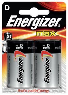 - Батарейка Energizer MAX LR20/E95 D 2 шт обложка книги
