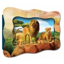 0223-А - Объемный Kids-Vizzle Львиное царство обложка книги