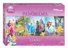 - Пазл 1000 эл. DISNEY Принцессы Panorama обложка книги