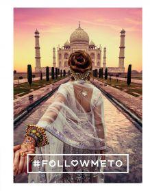 Обложка #FOLLOW ME! Впечатляющие приключения Натальи и Мурада Османн - российской пары путешественников, покоривших мир! Османов Мурад, Османн Наталья