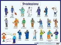 Профессии. Professions. Наглядное пособие на англ.яз.