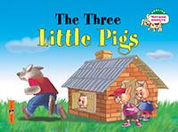 Наумова Н.А. - Три поросенка. The Three Little Pigs. (на английском языке) обложка книги