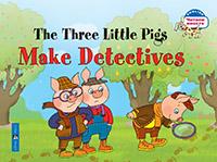 Наумова Н.А. - Три поросенка становятся детективами. The Three Little Pigs Make Detectives. (на английском языке) обложка книги