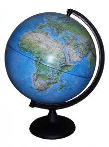 - Глобус Земли Ландшафтный на дуге и подставке из пластика, диаметр 300 мм обложка книги