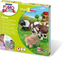 "- FIMO kids form&play детский набор ""Ферма"" обложка книги"