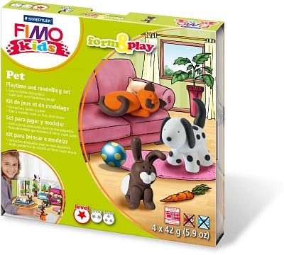 """FIMO kids form&play детский набор """"Домашний любимец"""" play doh игровой набор магазинчик домашних питомцев"""