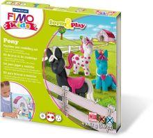 "- FIMO kids form&play детский набор ""Пони"" обложка книги"