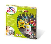 "- FIMO kids form&play детский набор ""Монстр"" обложка книги"