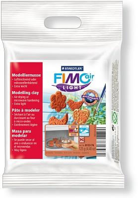 FIMO air light цвет терракота легкая самоотвердевающая полимерная глина на водной основе, 125 гр.