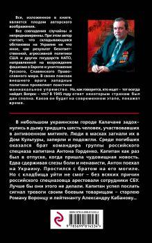 Обложка сзади Небратья Александр Тамоников