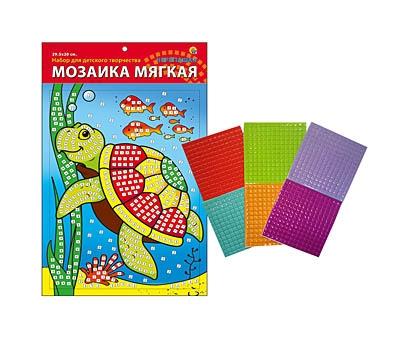 МОЗАИКА МЯГКАЯ. формат А4 (29.5х20 см) ЧЕРЕПАШКА (Арт. М-4745)