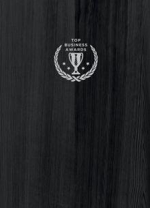 Блокнот Top Business Awards - линованный (черное дерево, желтые страницы)