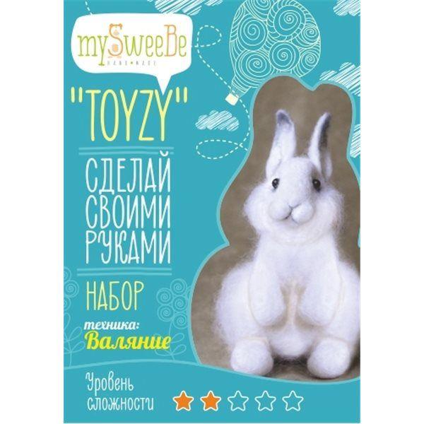 """Набор TOYZY """"Зайка"""" - техника валяние"""