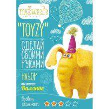 """Набор TOYZY """"Слон"""" - техника валяние"""