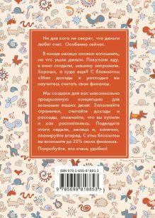 Обложка сзади CashBook. Мои доходы и расходы. 3-е издание (3 оформление)