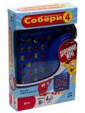 Дорожная Игра Собери 4 (Настольная игра) (B1000) от ЭКСМО