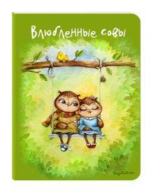 - Блокнот. Влюбленные совы (мини) обложка книги