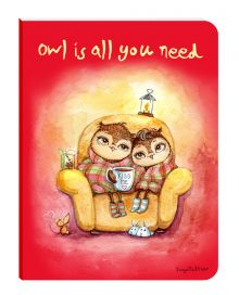 - Блокнот. Уютные совы (Owl is all you need) (мини) обложка книги