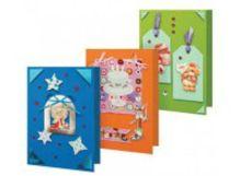 - Наборы для скрапбукинга. Набор для создания 3-х открыток Праздник (111-SB) обложка книги