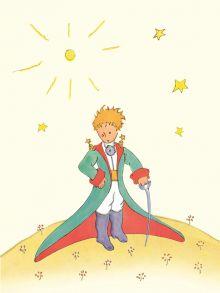 Сент-Экзюпери А. - Блокнот Маленький принц. Книга 1 обложка книги