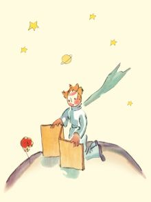 Сент-Экзюпери А. - Блокнот Маленький принц. Книга 4 обложка книги