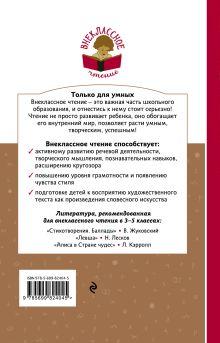 Обложка сзади Серая Шейка. Сказки. Рассказы Дмитрий Мамин-Сибиряк