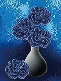 - Наборы для вышивания 11ст. Цветы ночи (7035-3D) обложка книги