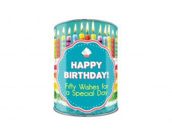 С Днем Рождения! Банка сладких пожеланий