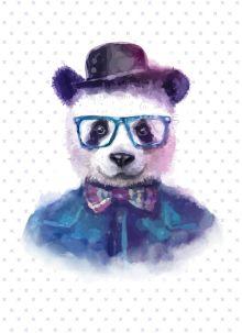 """Блокнот для записей """"Добрая панда"""" (А6)"""