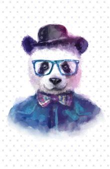 """Блокнот для записей """"Добрая панда"""" (А5)"""