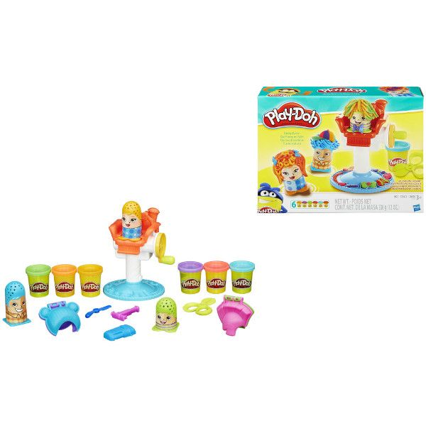 """Play-Doh Игровой набор """"Сумасшедшие прически"""" (B1155)"""