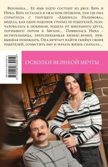 Обложка сзади Осколки великой мечты Анна и Сергей Литвиновы