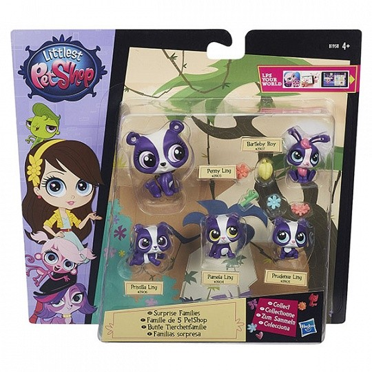 Littlest Pet Shop Игровой набор Большая семейка  (в ассорт.) (B1902) touch screen for plcs 10 injection molding machine repair have in stock