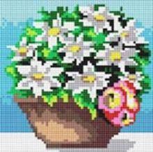 Стразы на подрамнике. Комнатные цветы (020-RS-R)