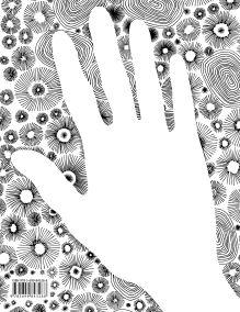Обложка сзади Doodlebook. Ok, Doodle! Дудлы, скетчи, зентанглы (обложка с рукой)