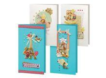 - Наборы для скрапбукинга. Набор для создания 4-х открыток Грация (150-SB) обложка книги