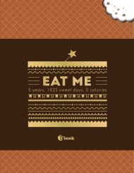 EAT ME. 5 years. 1825 sweet days. 0 calories обложка