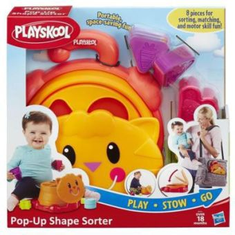PLAYSKOOL Складной Сортер (B1914) PLAYSKOOL